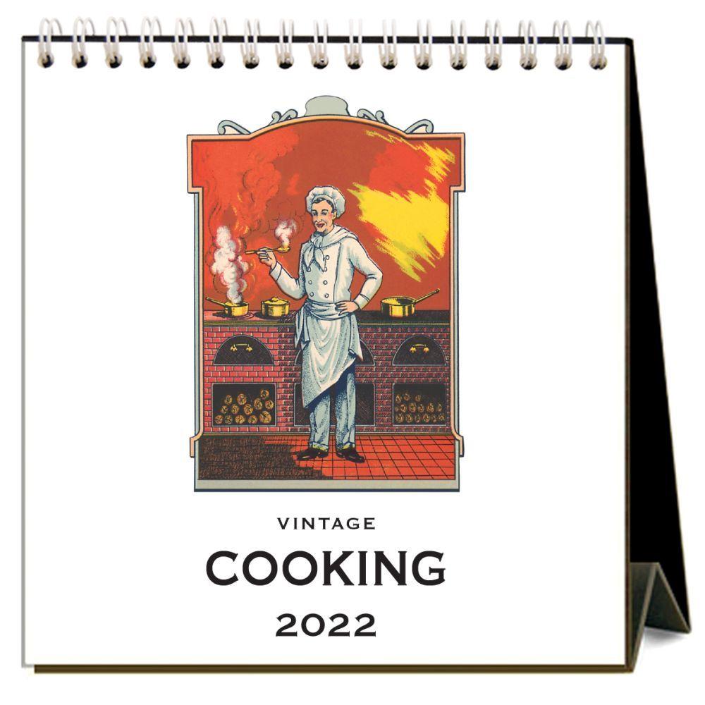 Cooking 2022 Desk Calendar