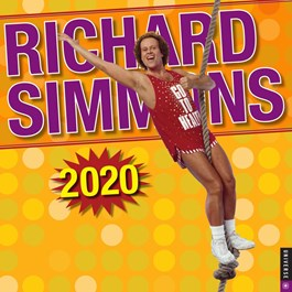 Richard Simmons Wall Calendar