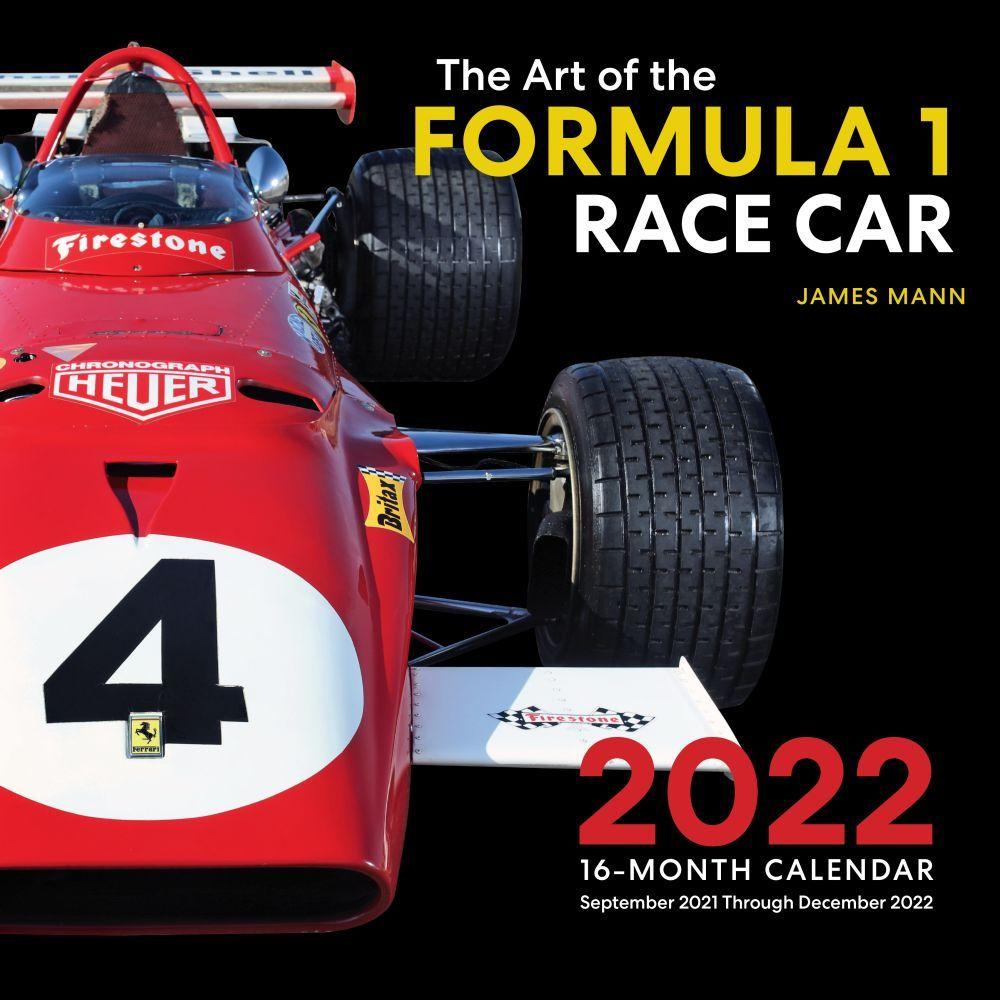 Formula 1 Race Car 2022 Wall Calendar
