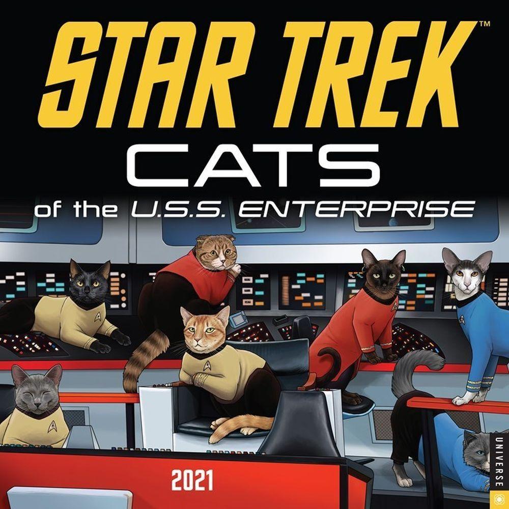 Calendar | Trek | Star | Wall | Cat