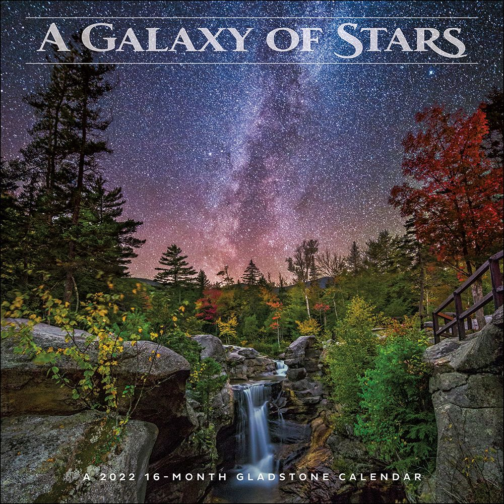 Galaxy Of Stars 2022 Wall Calendar