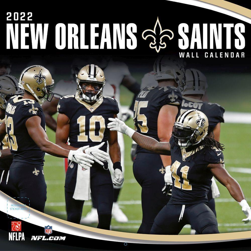 New Orleans Saints 2022 Wall Calendar