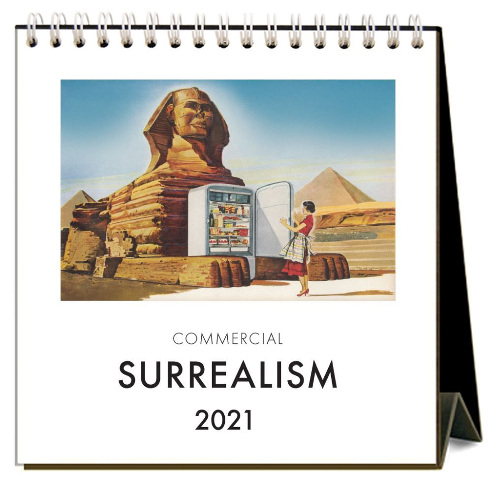 2021 Commercial Surrealism Nostalgic Easel Calendar