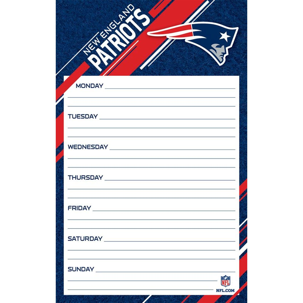 New-England-Patriots-Jumbo-Weekly-Planner-1