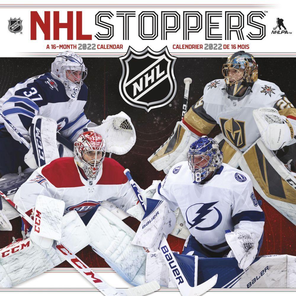 NHL Stoppers Bilingual 2022 Wall Calendar