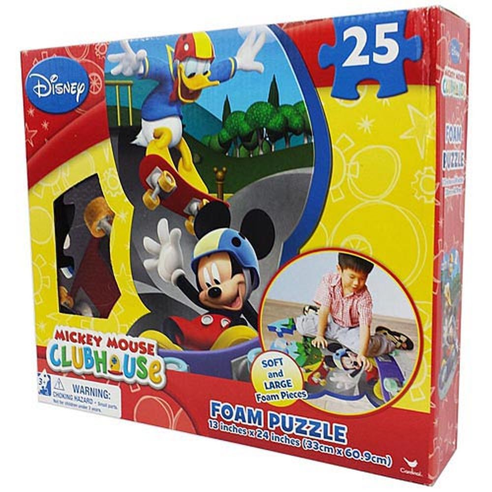 Mickey-Mouse-Clubhouse-25-Foam-Piece-Puzzle-1