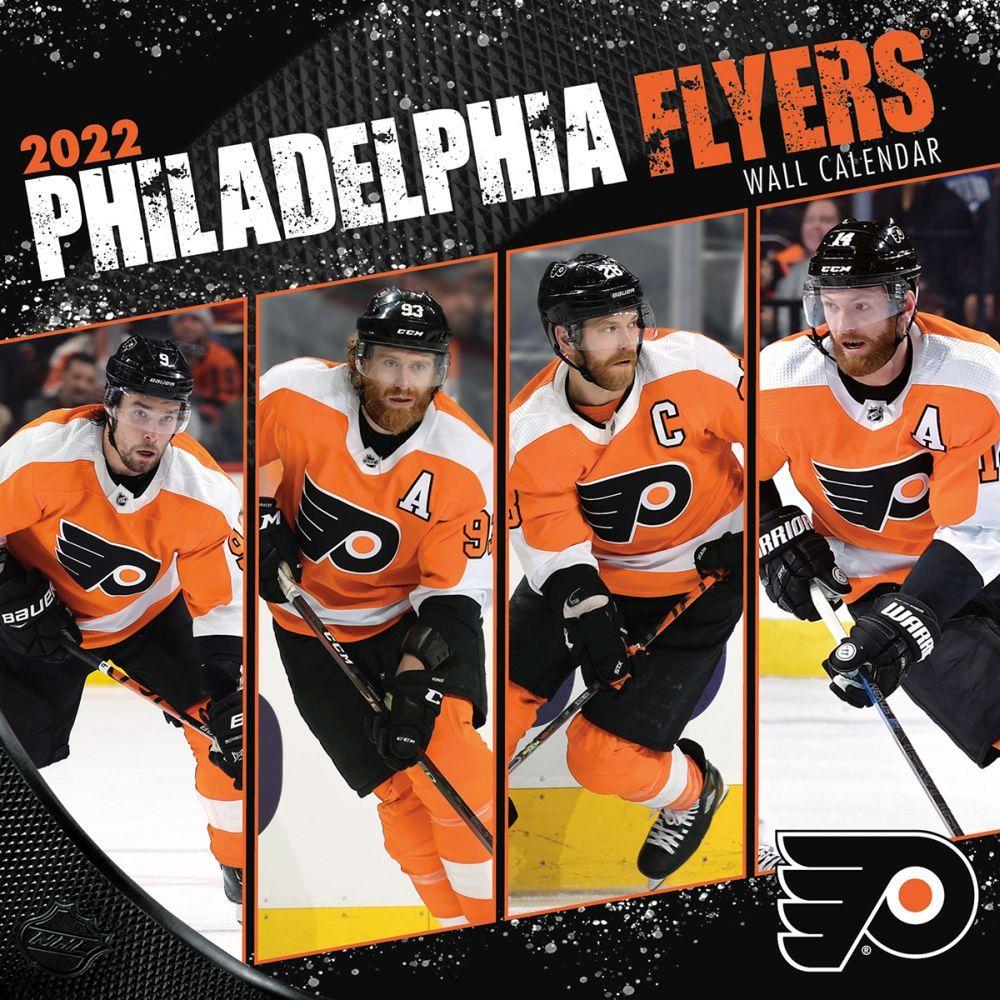 Philadelphia Flyers 2022 Wall Calendar