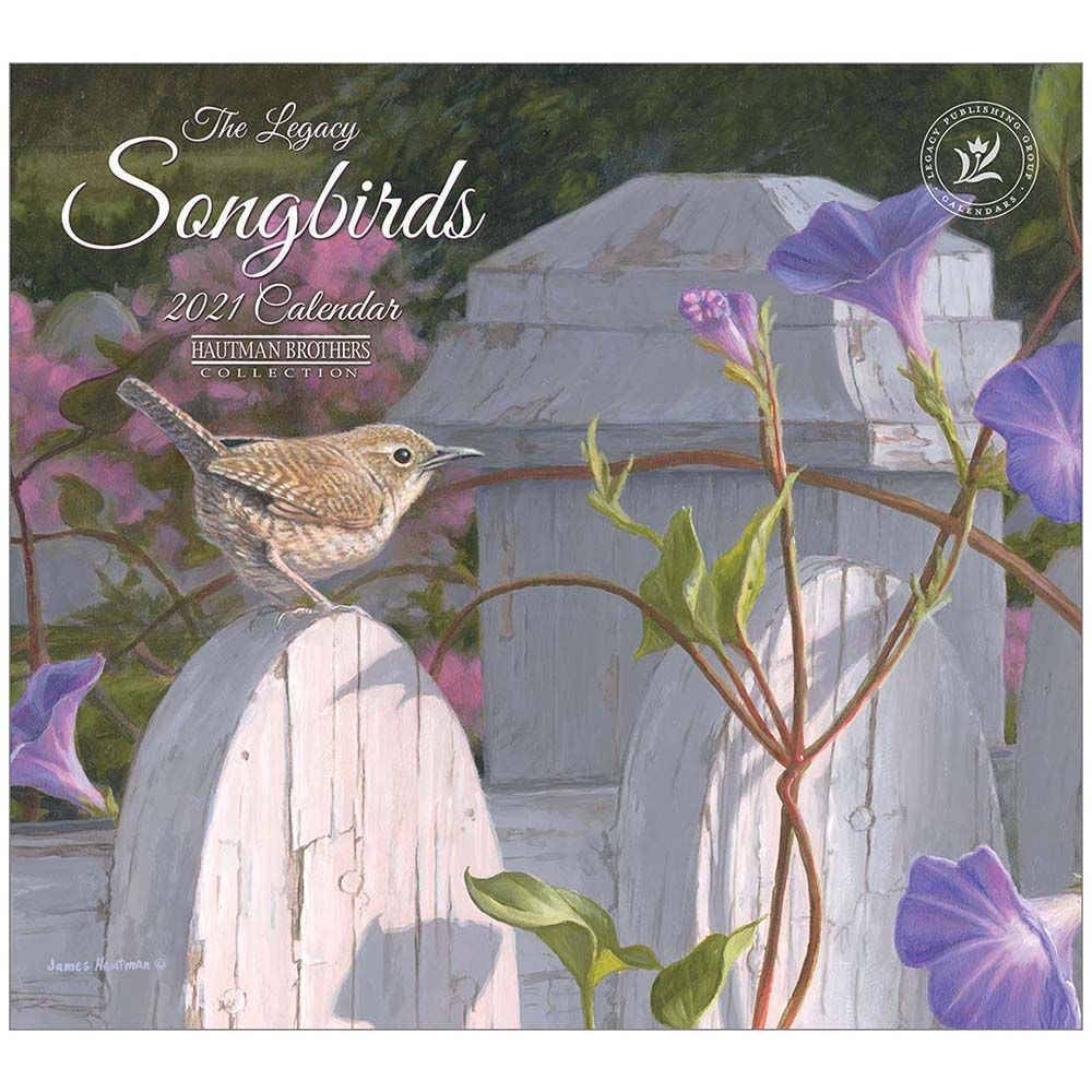 2021 Songbirds Mini Calendar