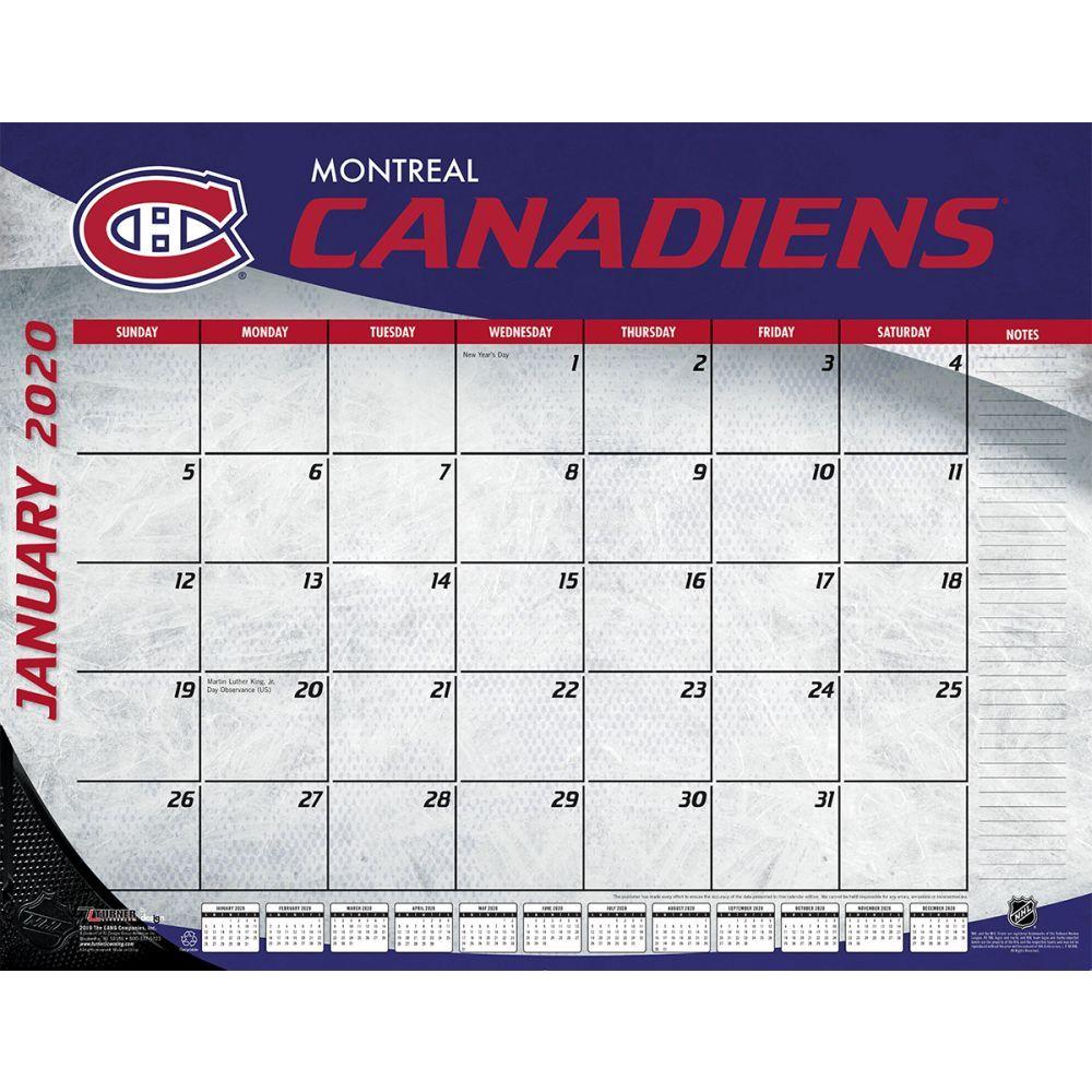 Montreal Canadiens 2021 Desk Pad