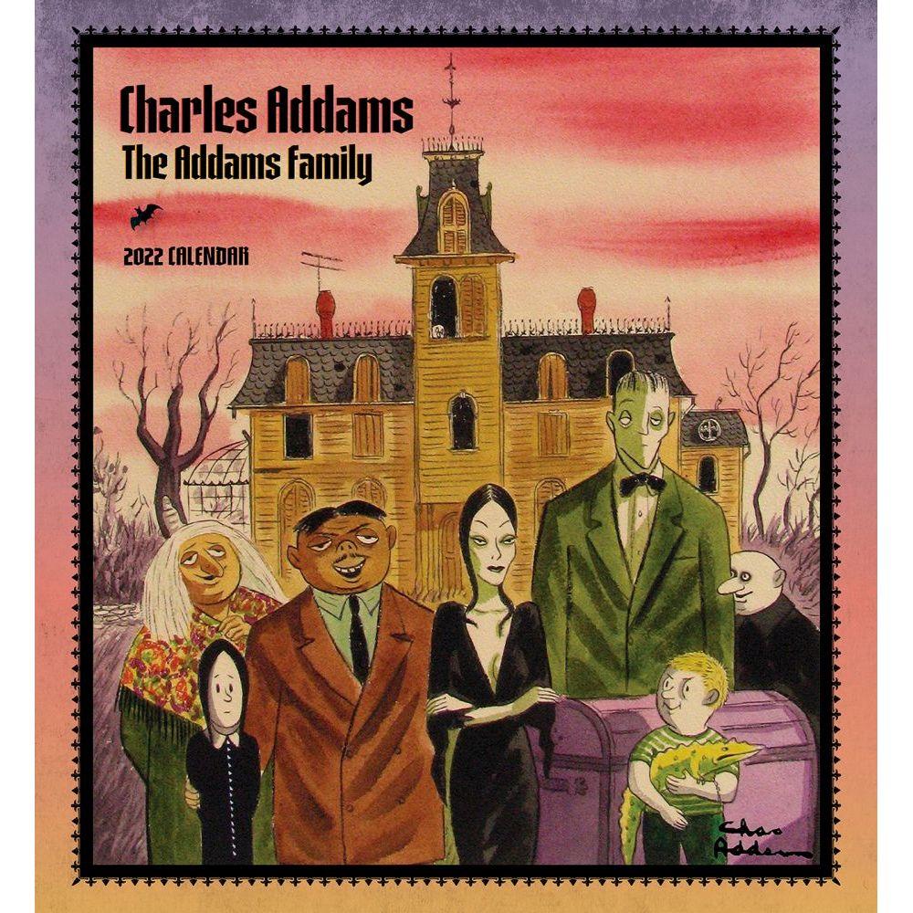 The Addams Family 2022 Wall Calendar