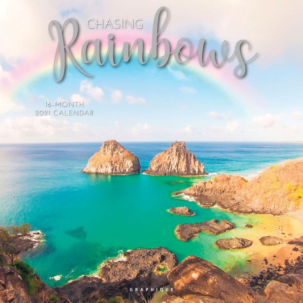 2021 Chasing Rainbows Wall Calendar