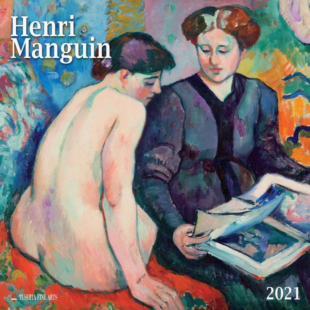 2021 Manguin Henri Wall Calendar
