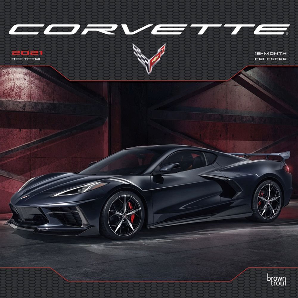 Best 2021 Corvette Wall Calendar