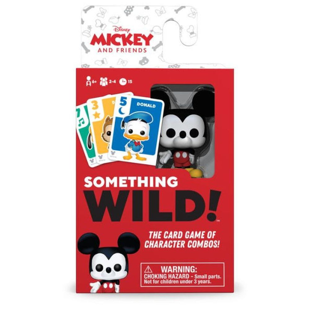 Something Wild Mickey and Friends Card Game