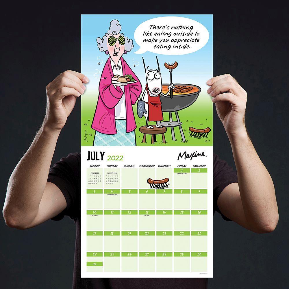 Maxine Calendar 2022.Maxine At Home 2022 Wall Calendar Calendars Com