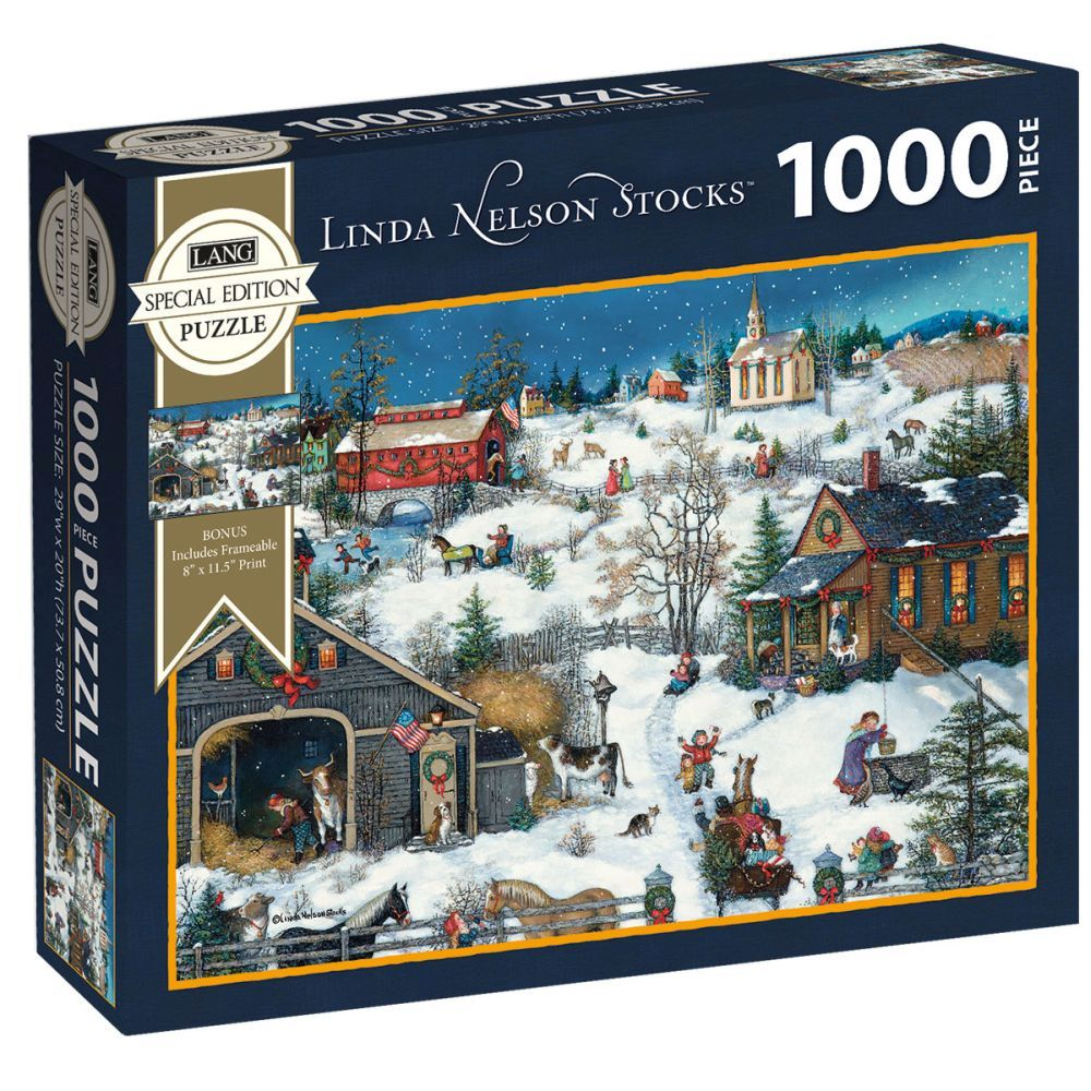 Best Nelson Stocks Special Edition 1000pc Puzzle You Can Buy