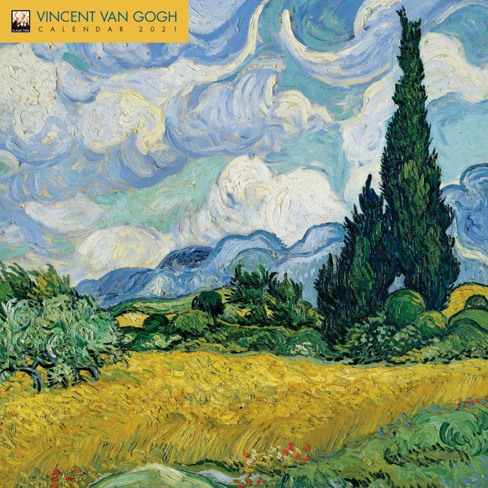Vincent Van Gogh 2021 Wall Calendar
