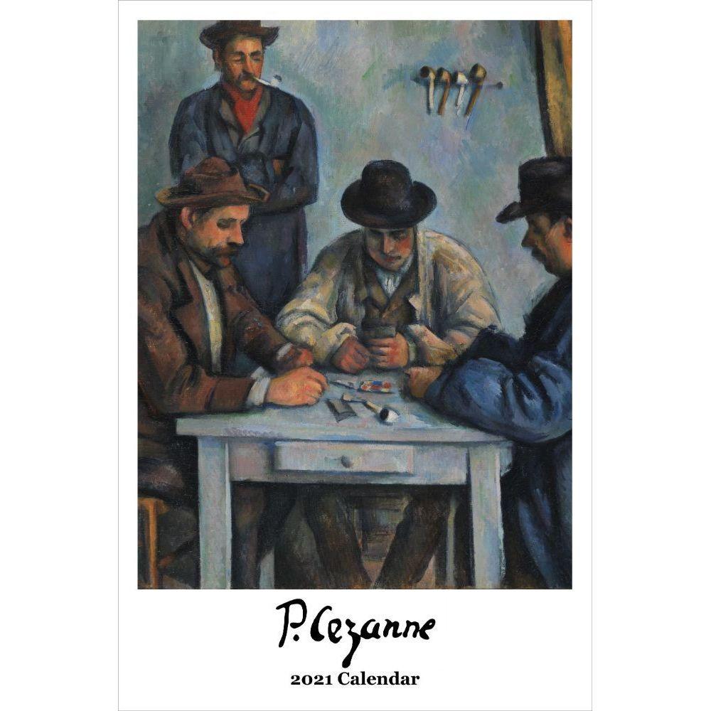 2021 Cezanne Poster Wall Calendar