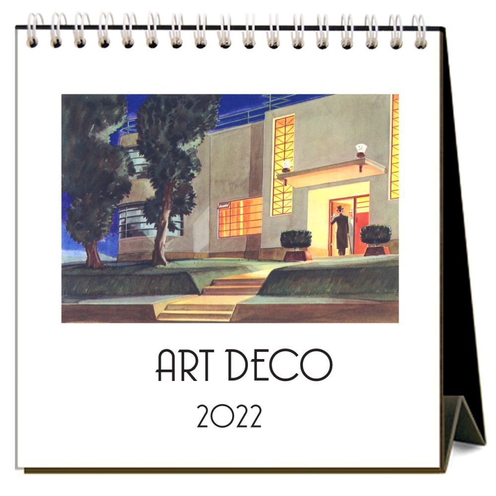 Art Deco 2022 Desk Calendar