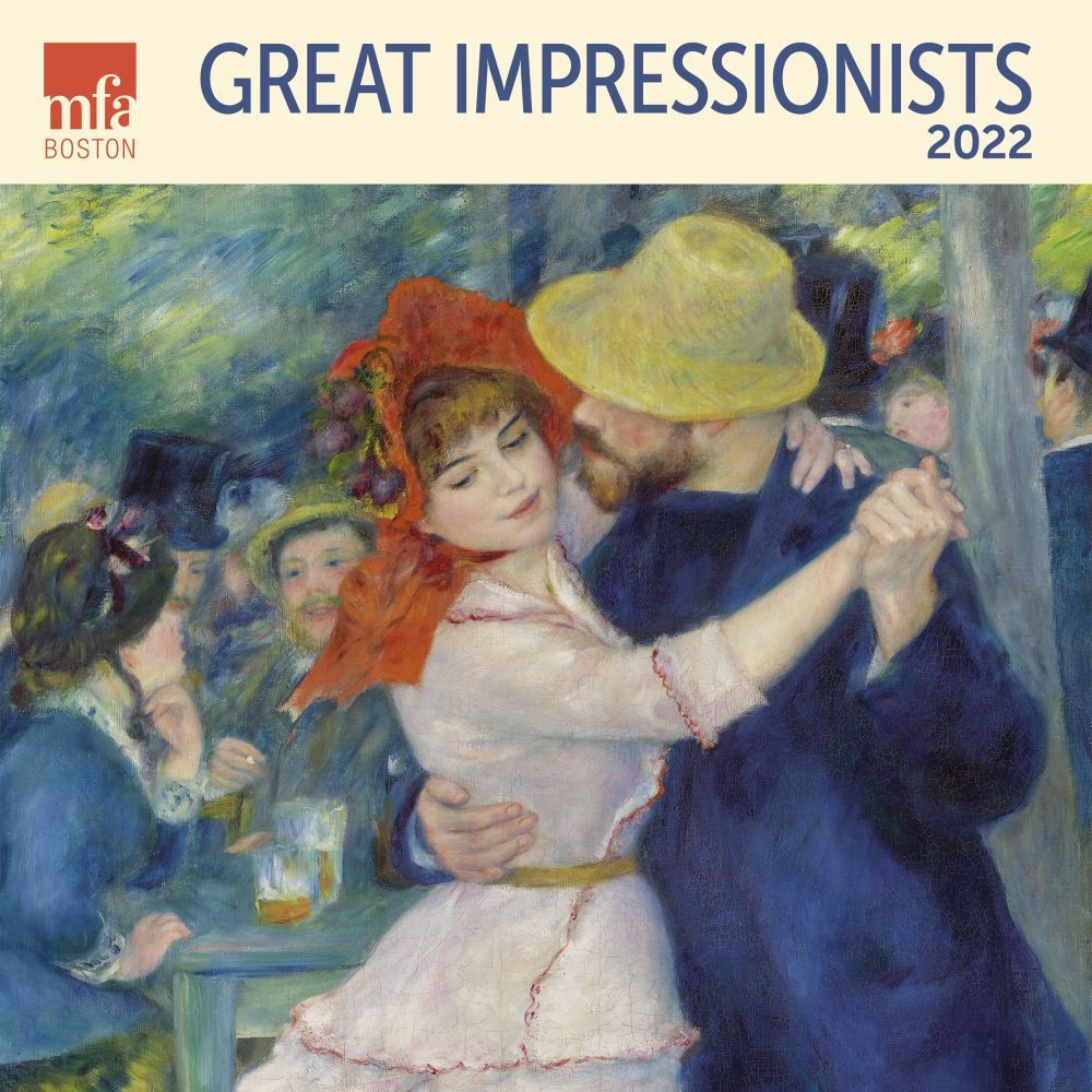 Great Impressionists 2022 Wall Calendar