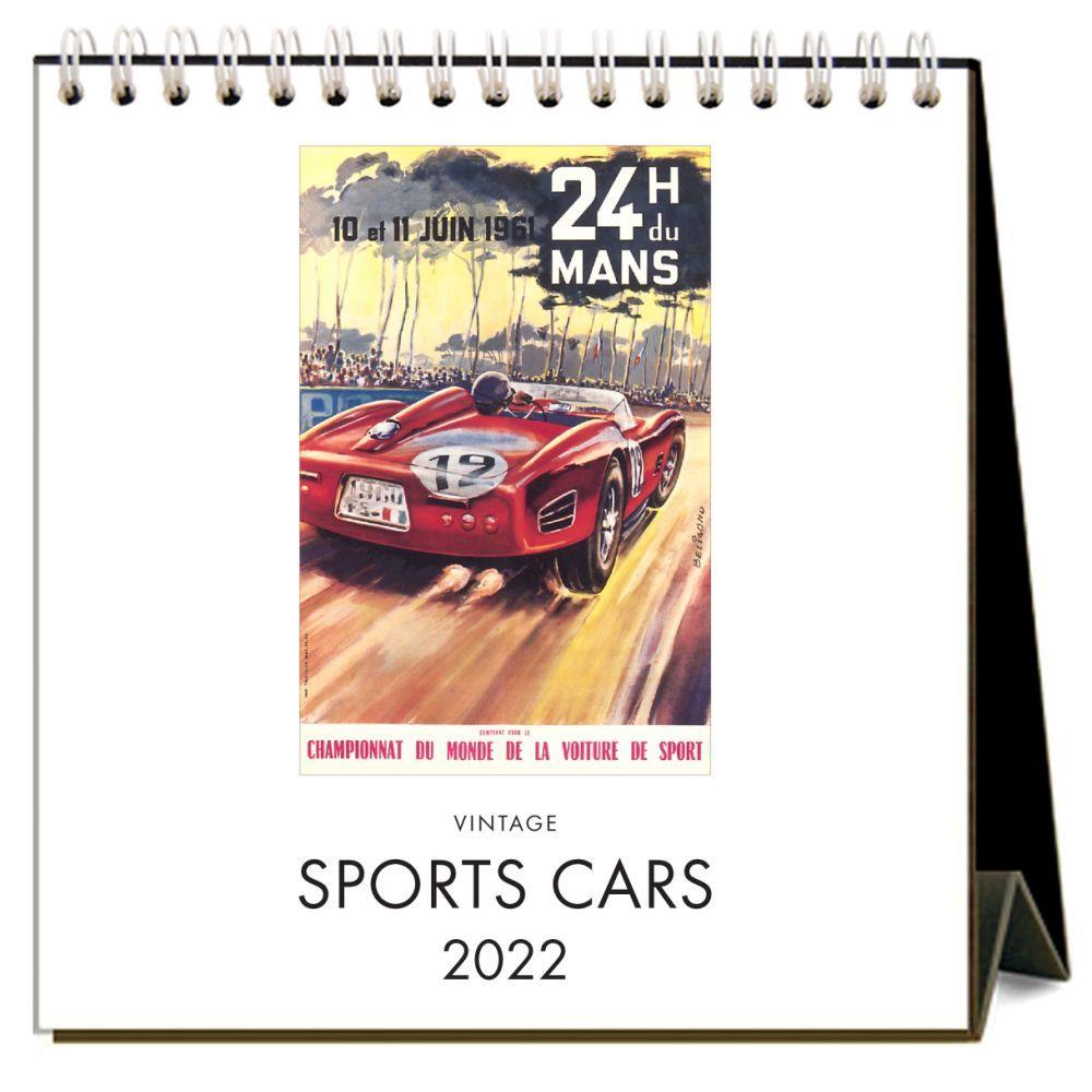 Sports Cars 2022 Easel Calendar