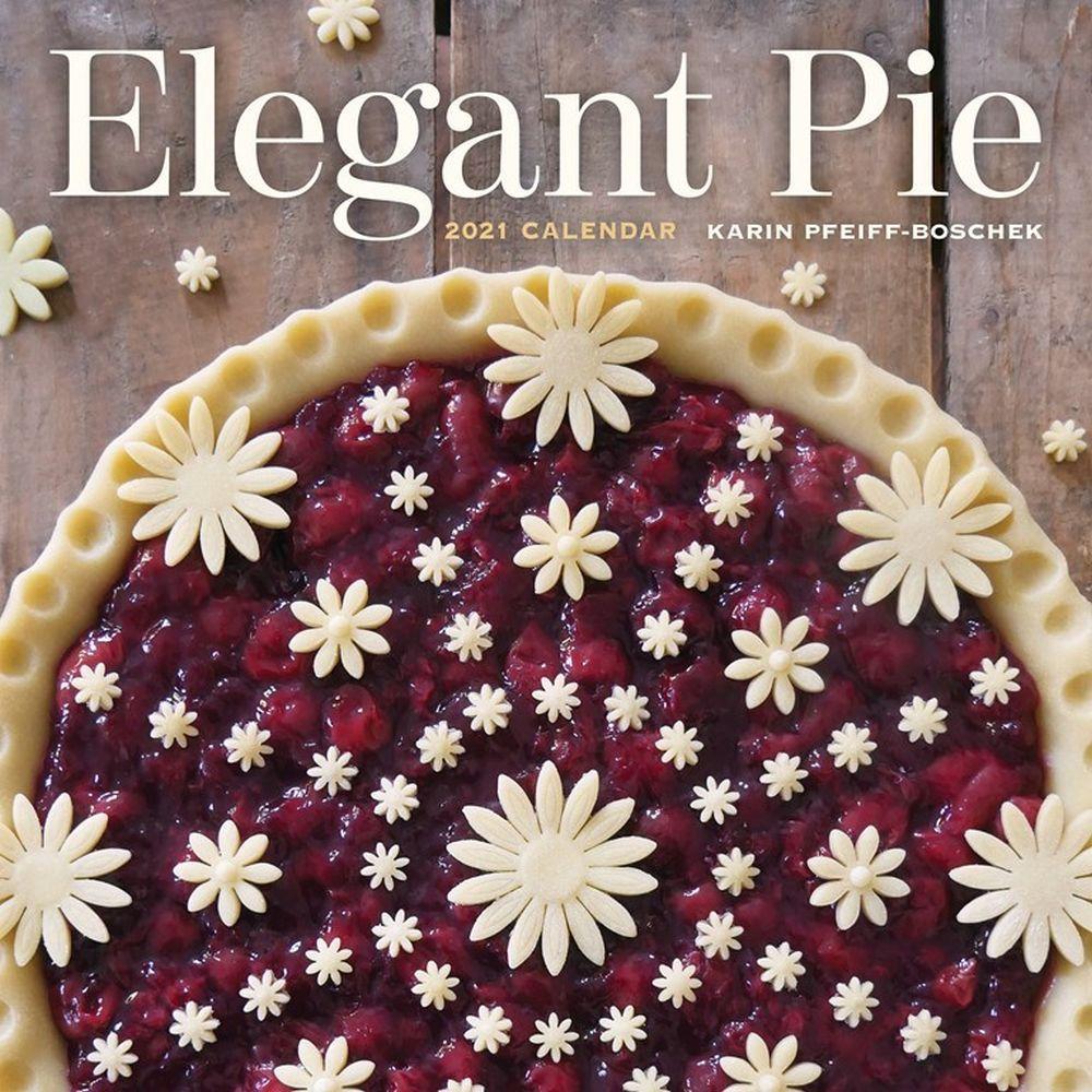 2021 Elegant Pie Wall Calendar