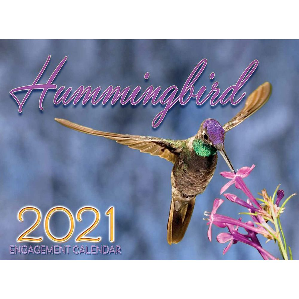 2021 Hummingbird Wall Calendar