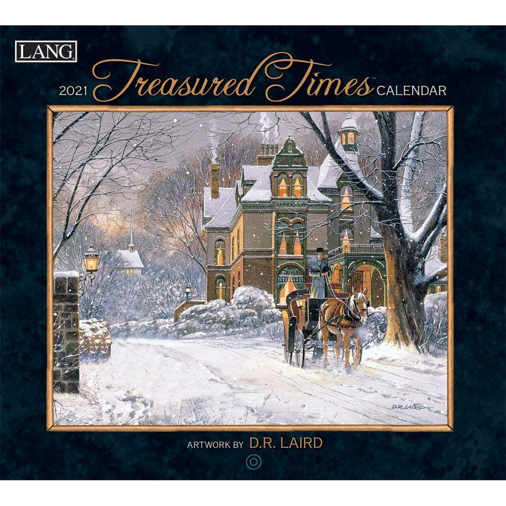 2021 Treasured Times Wall Calendar by D.R. Laird