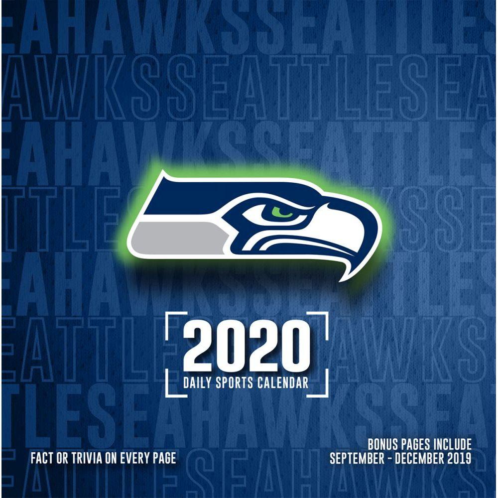 Seattle Seahawks 2021 Desk Calendar