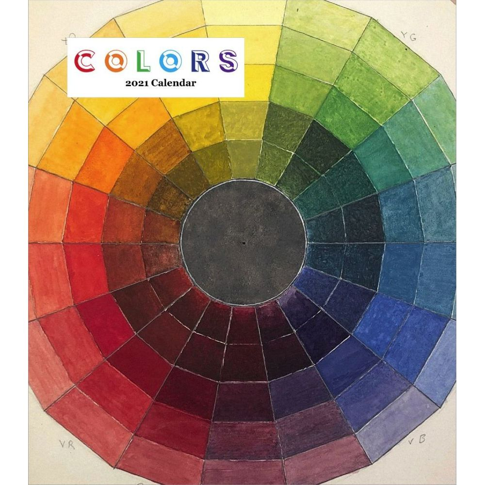 2021 Colors Easel Calendar