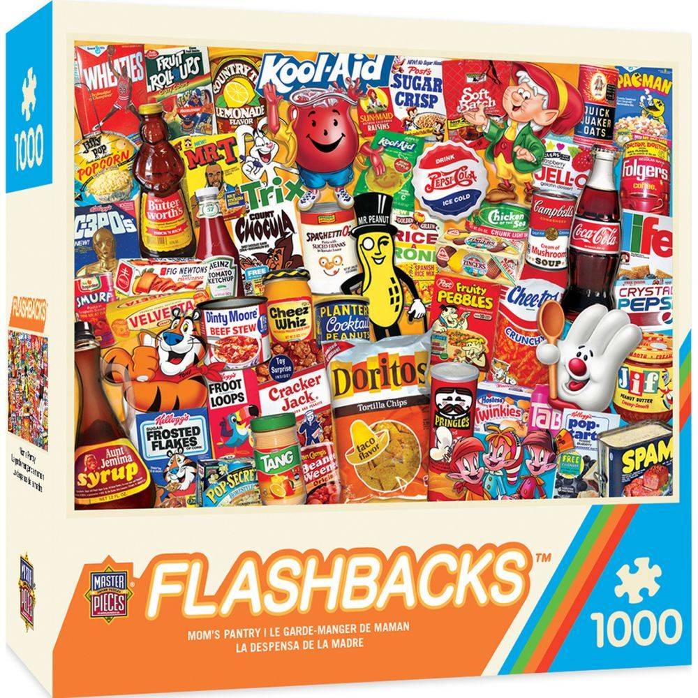Best Moms Pantry 1000pc Puzzle You Can Buy