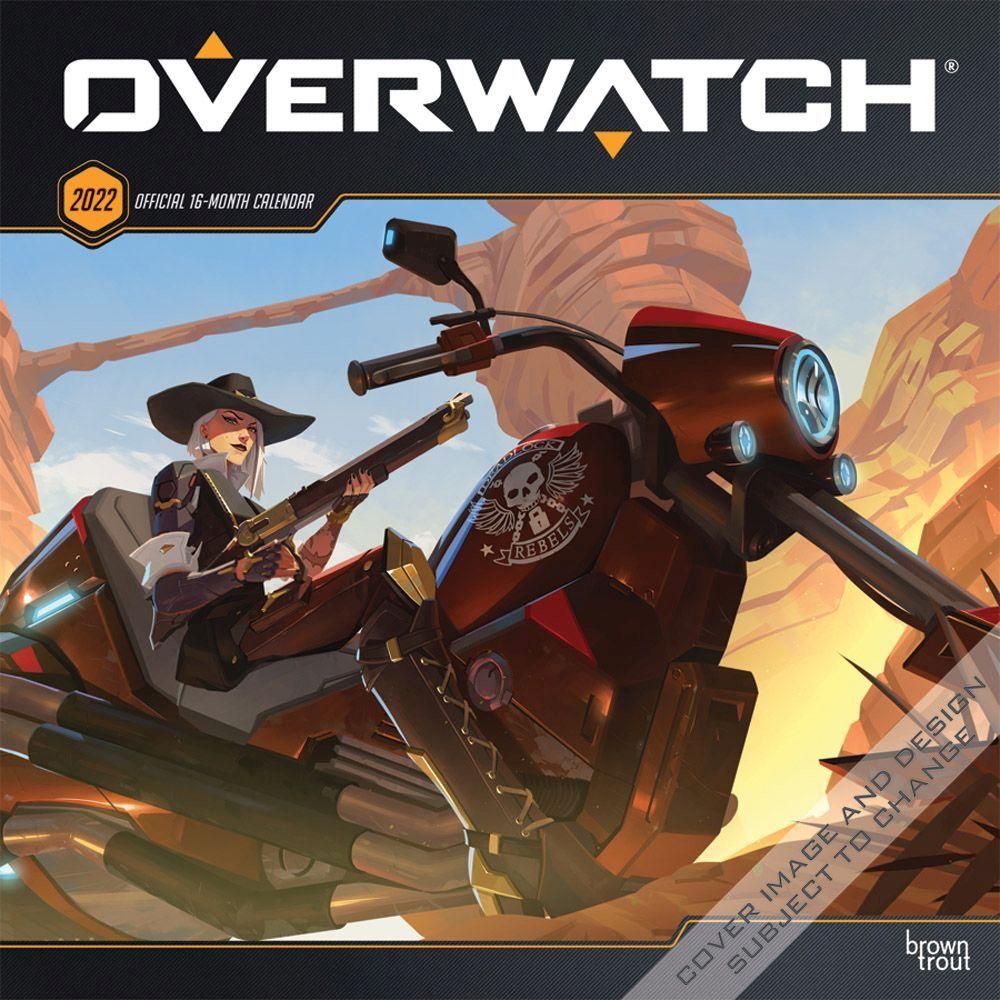 Overwatch 2022 Wall Calendar