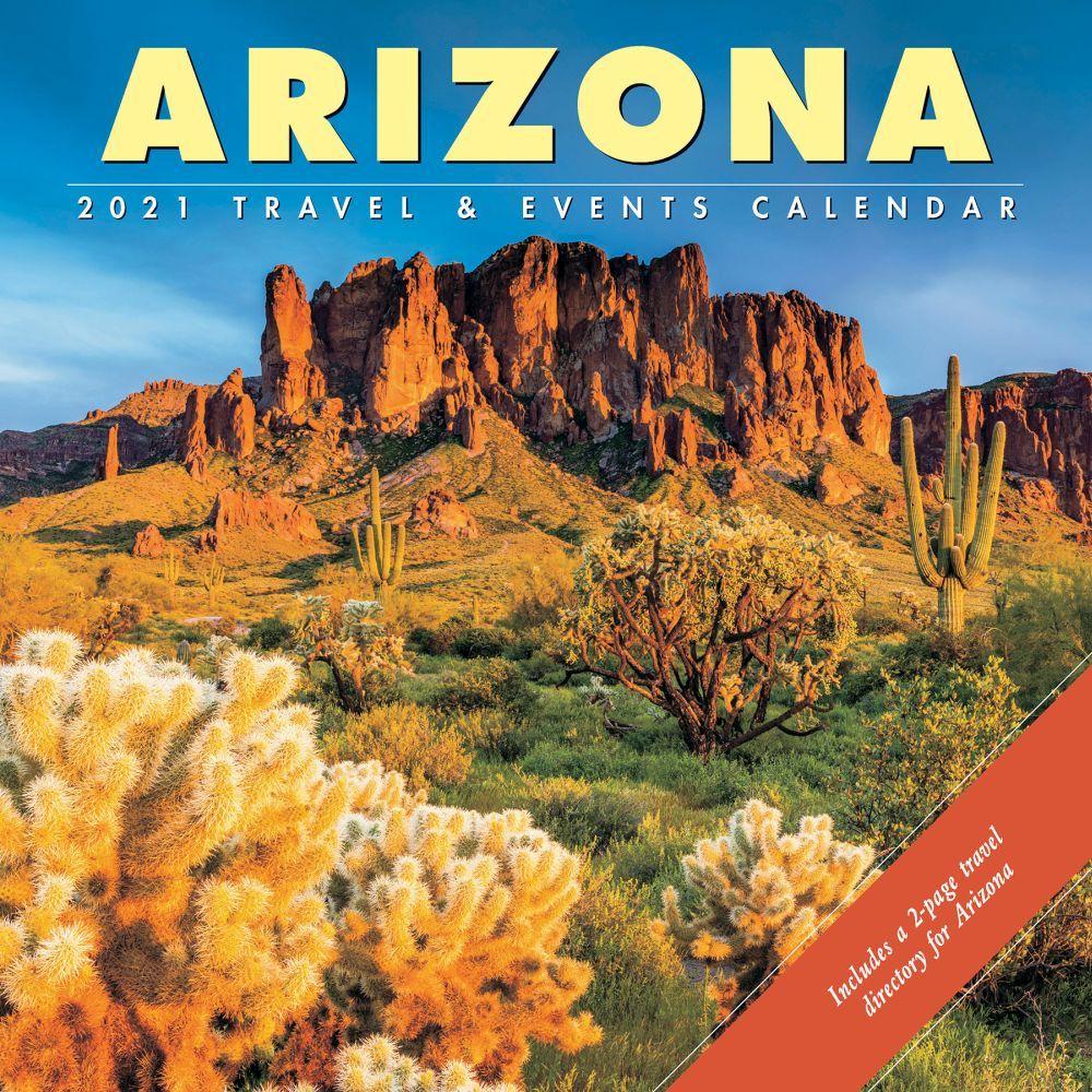 Arizona Travel & Events 2021 Wall Calendar