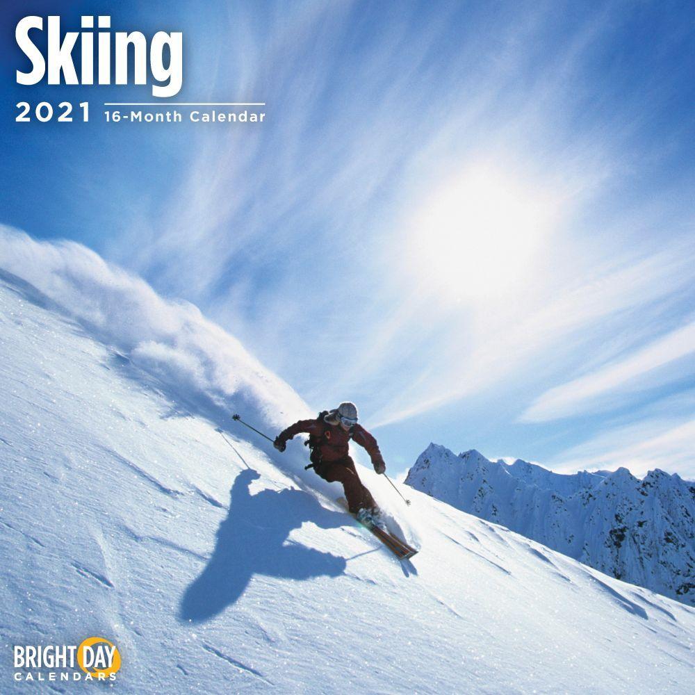 Skiing 2021 Wall Calendar