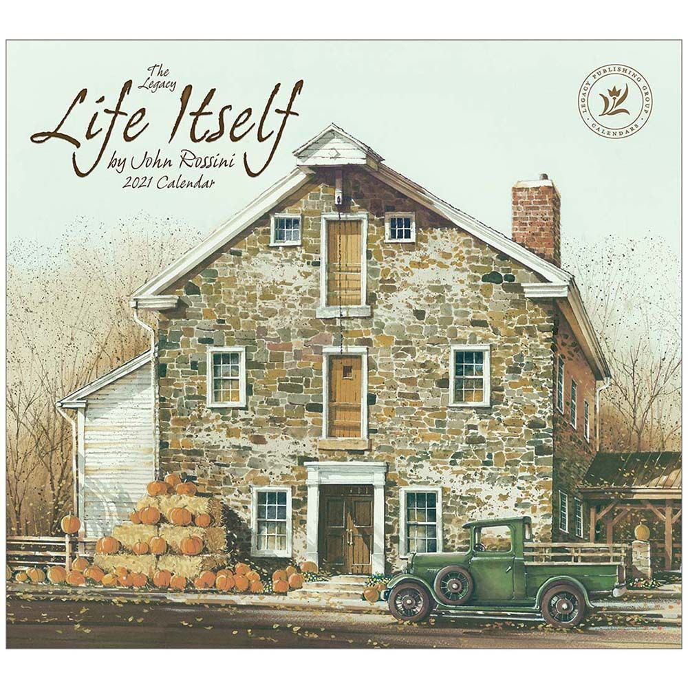2021 Life Itself Rossini Wall Calendar