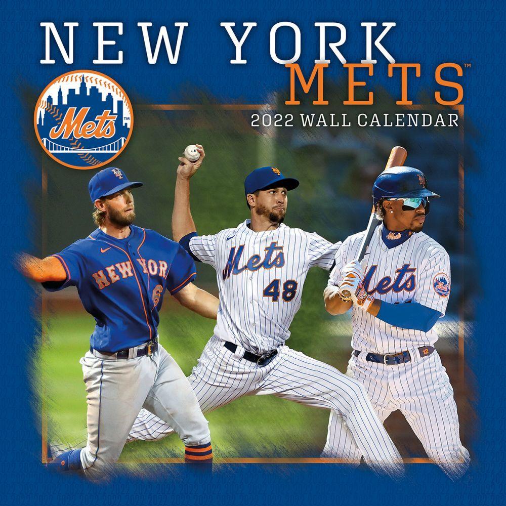 New York Mets 2022 Wall Calendar