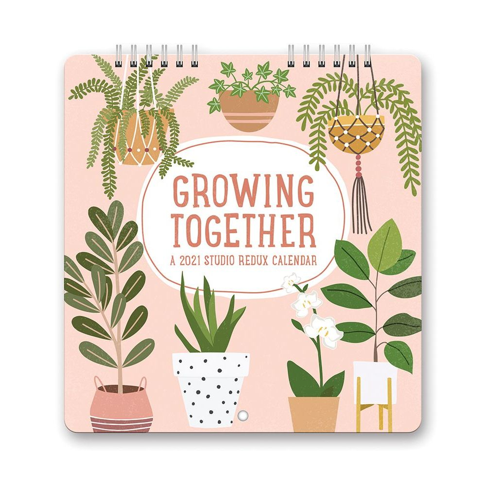 2021 Growing Together Studio Redux Mini Wall Calendar