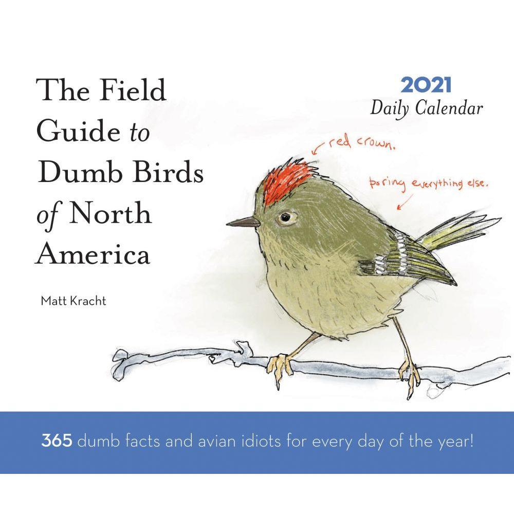 Dumb Birds 2021 Wall Calendar