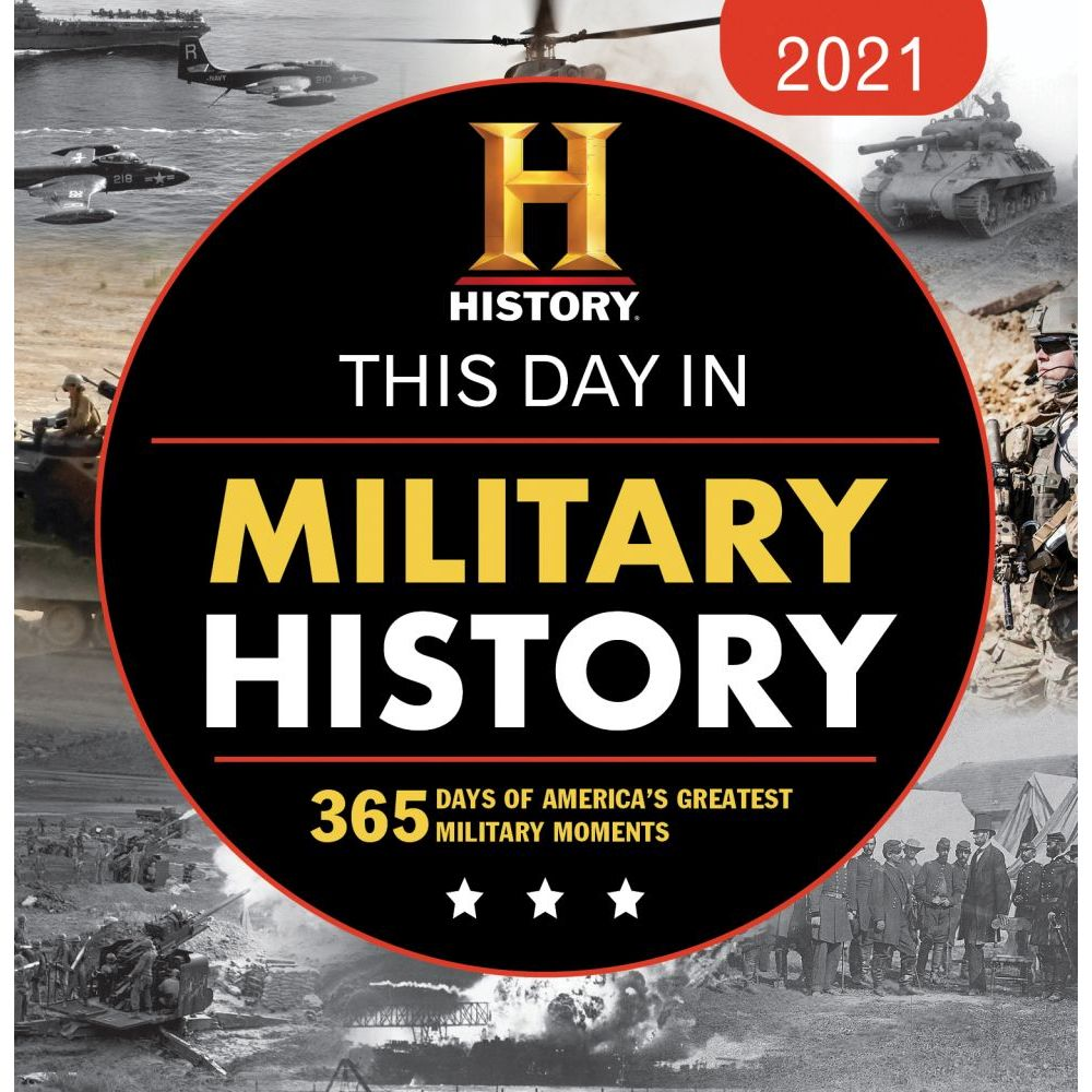 2021 Military History Channel Desk Calendar