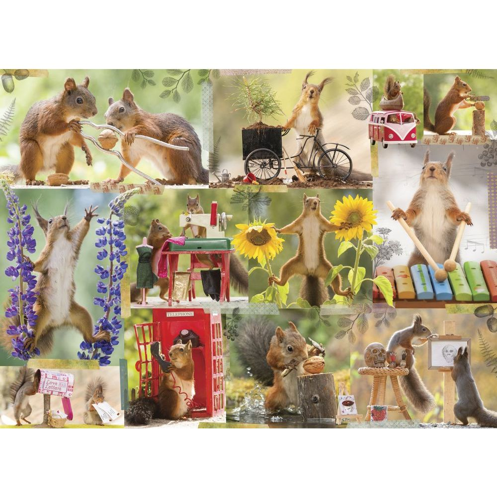 Best Getting Squirrelly 1000pc Puzzle You Can Buy