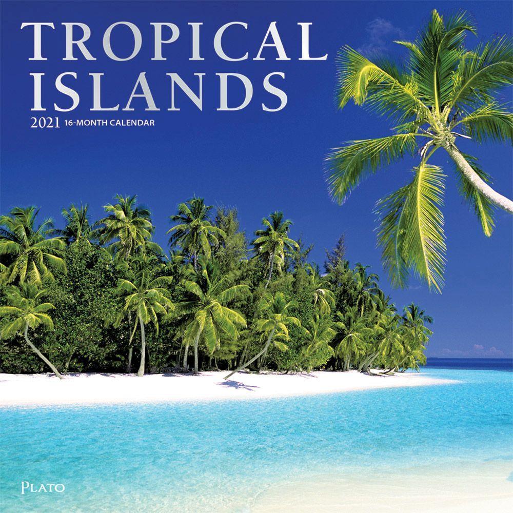 2021 Tropical Islands Wall Calendar