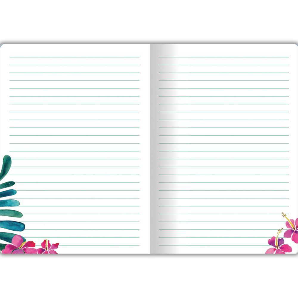 Tropical Paradise Elements Classic Journal by Cat Coquillette-1