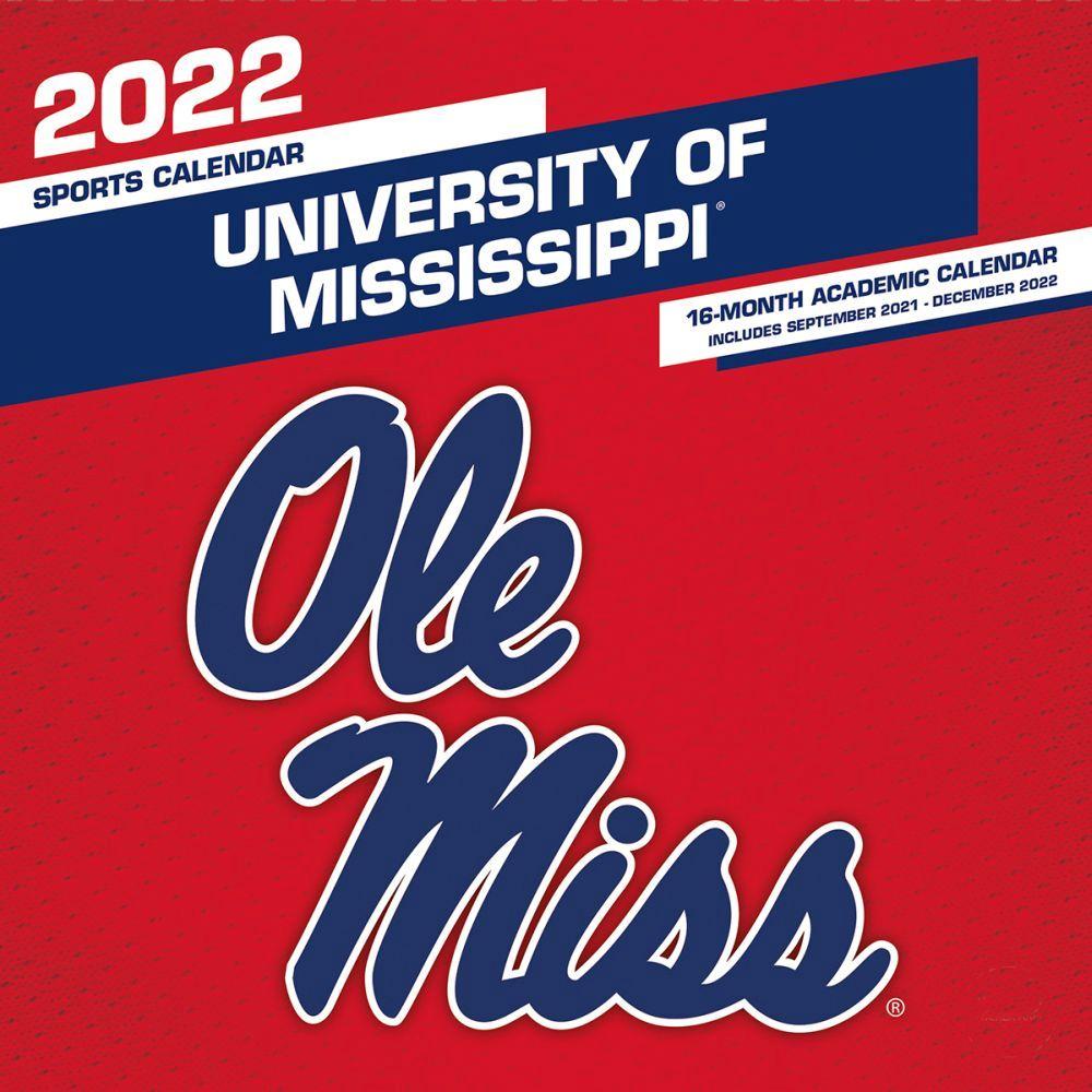Old Mississippi Rebels 2022 Wall Calendar