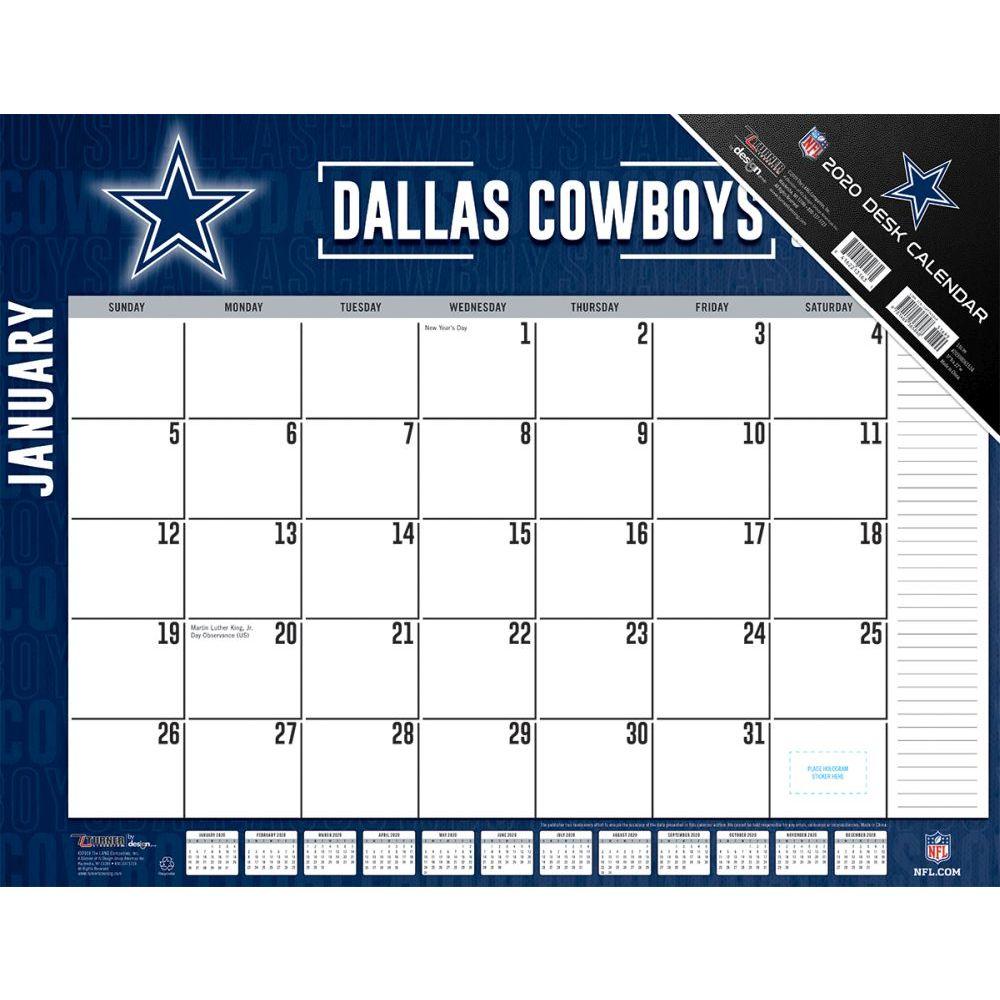 Dallas Cowboys 2021 Desk Pad