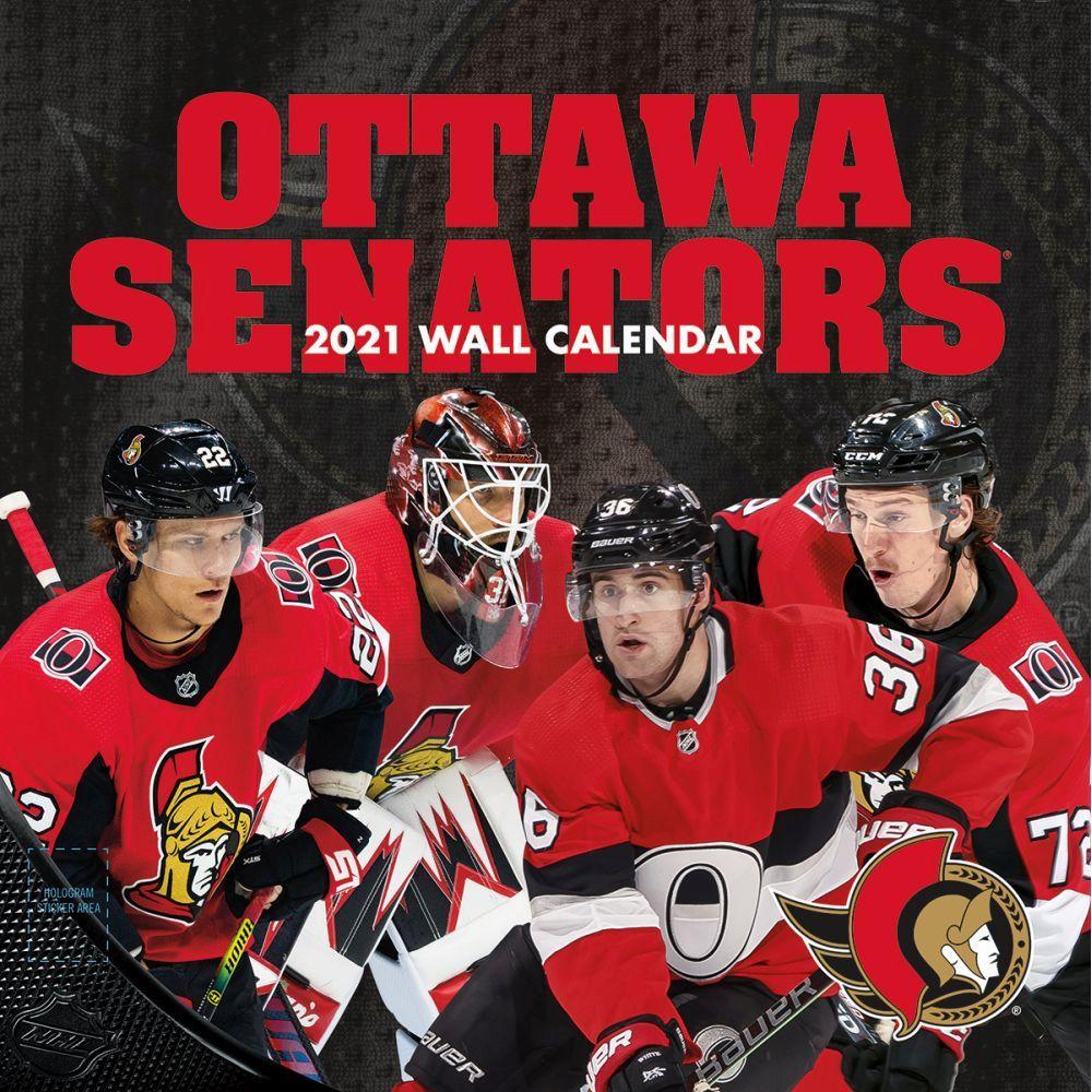 2021 Ottawa Senators Wall Calendar