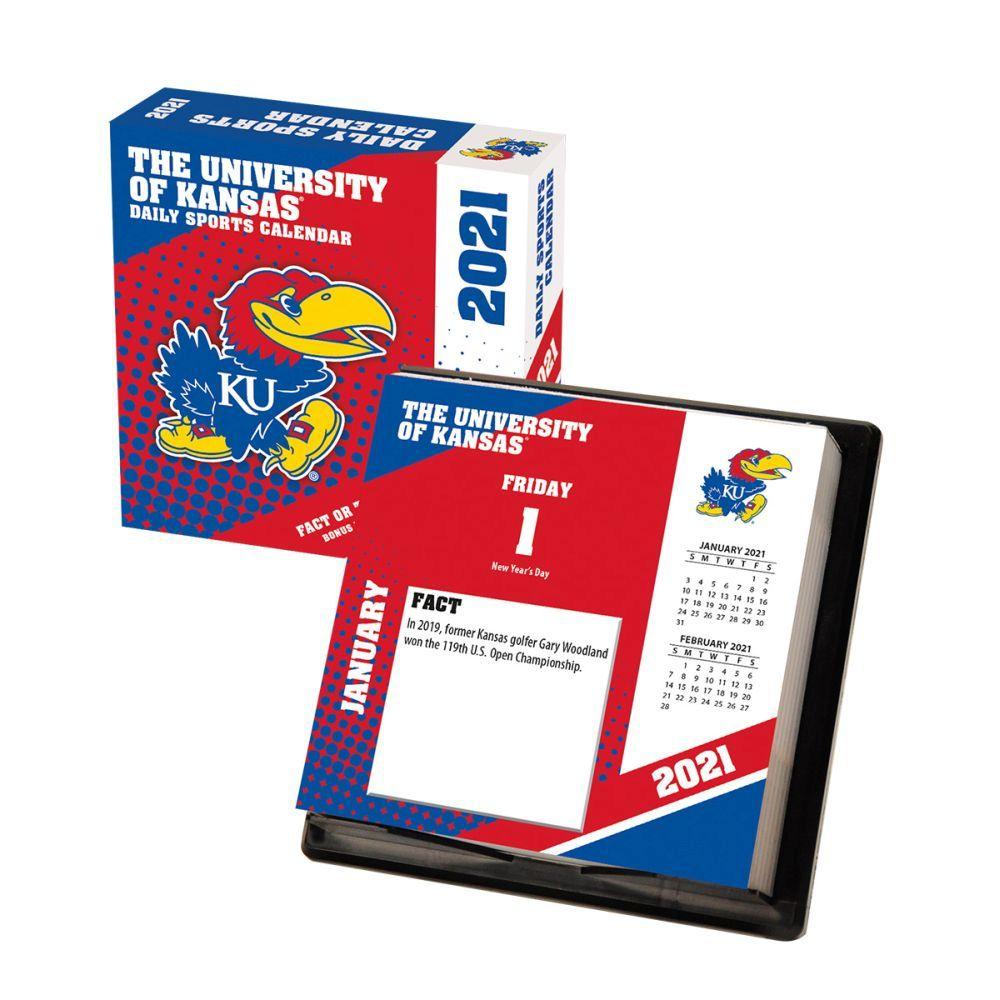 2021 Kansas Jayhawks Desk Calendar