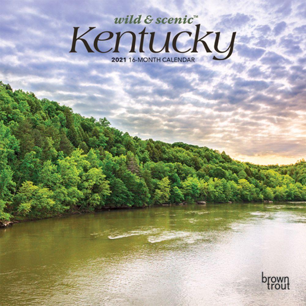 Kentucky 2021 Mini Wall Calendar
