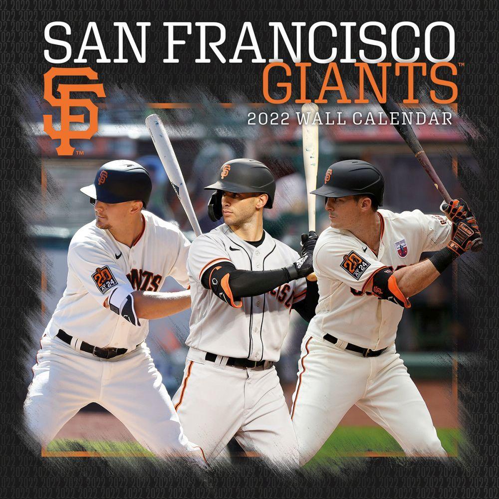 San Francisco Giants 2022 Wall Calendar