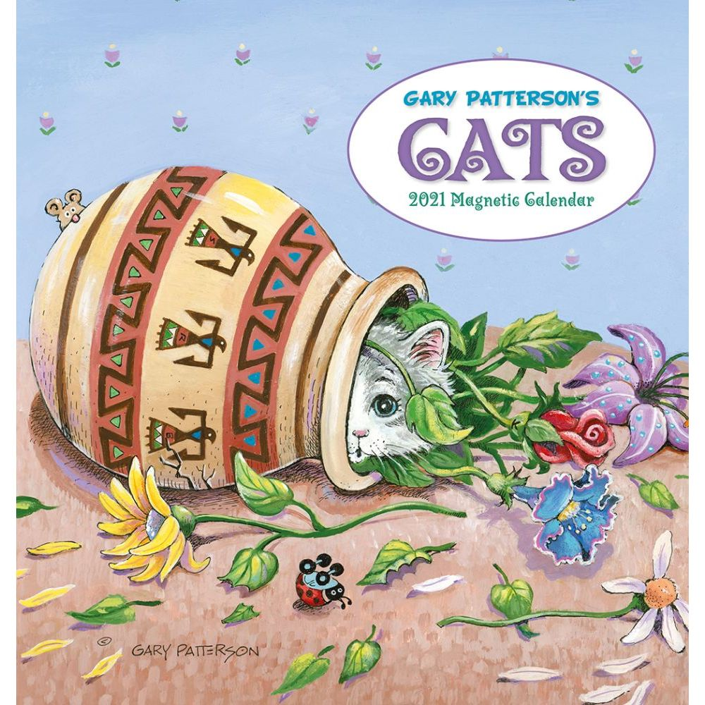 Image of Gary Patterson Cats Wall Calendar for 2021