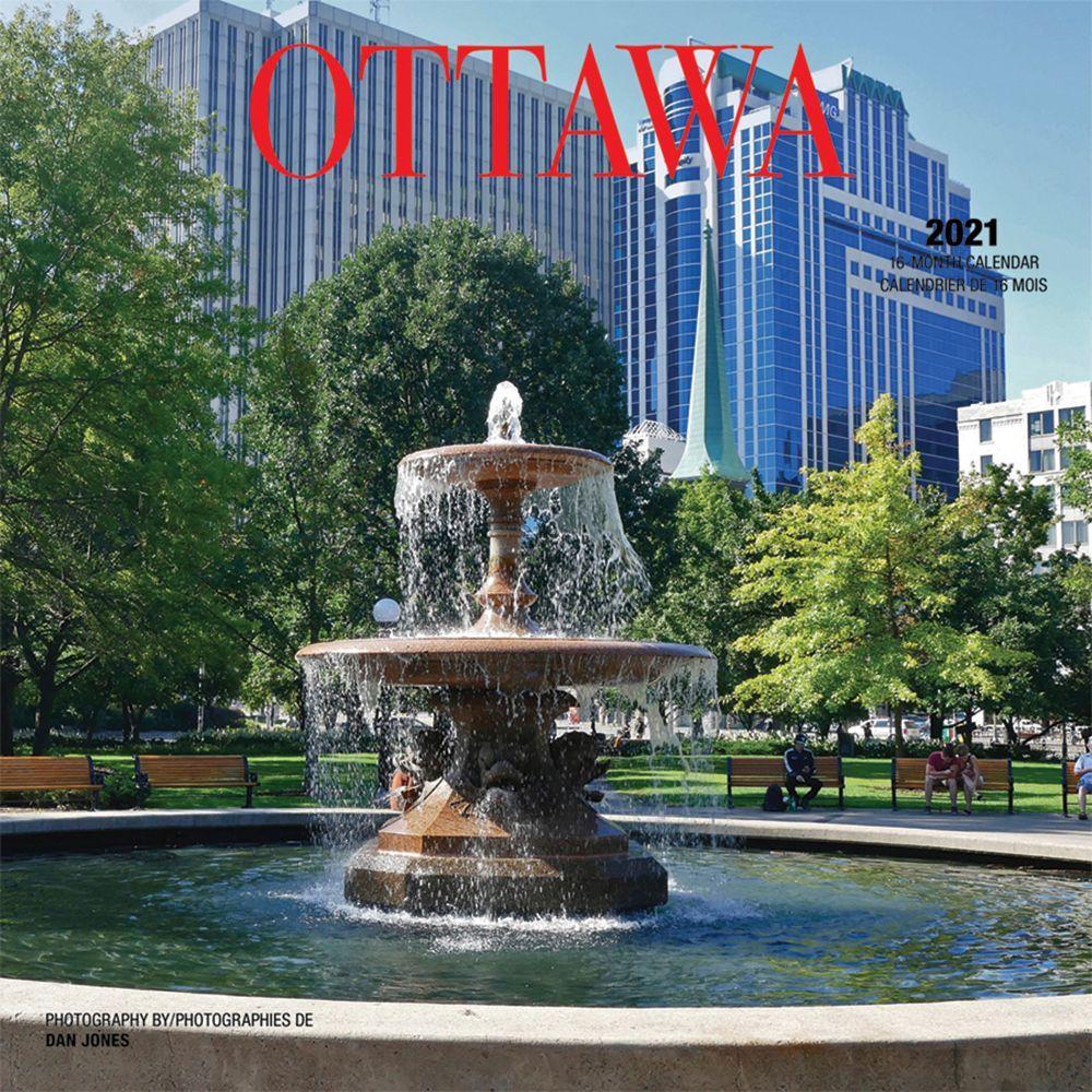 2021 Ottawa Wall Calendar